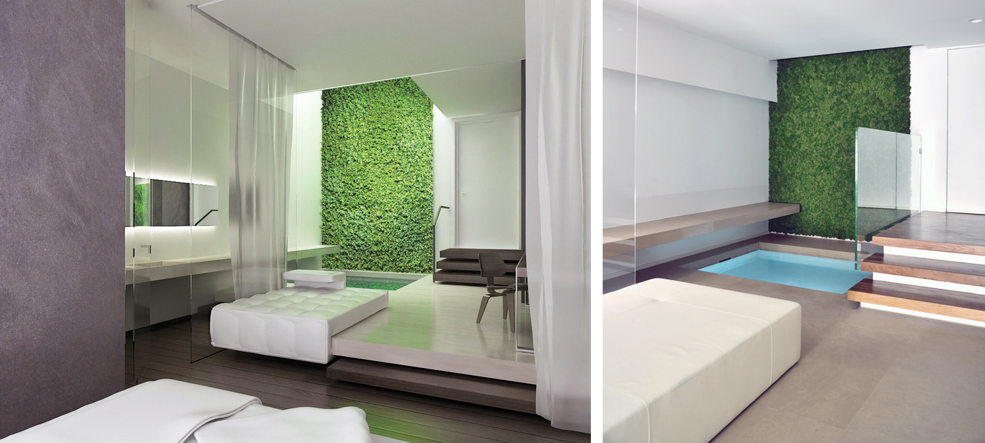 Spa Guest Room