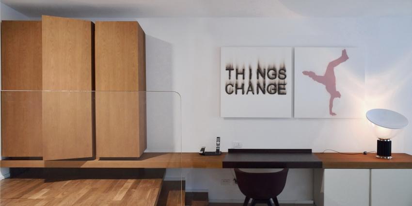 Spa Room- side-board, cupboard, writing desk and mini bar