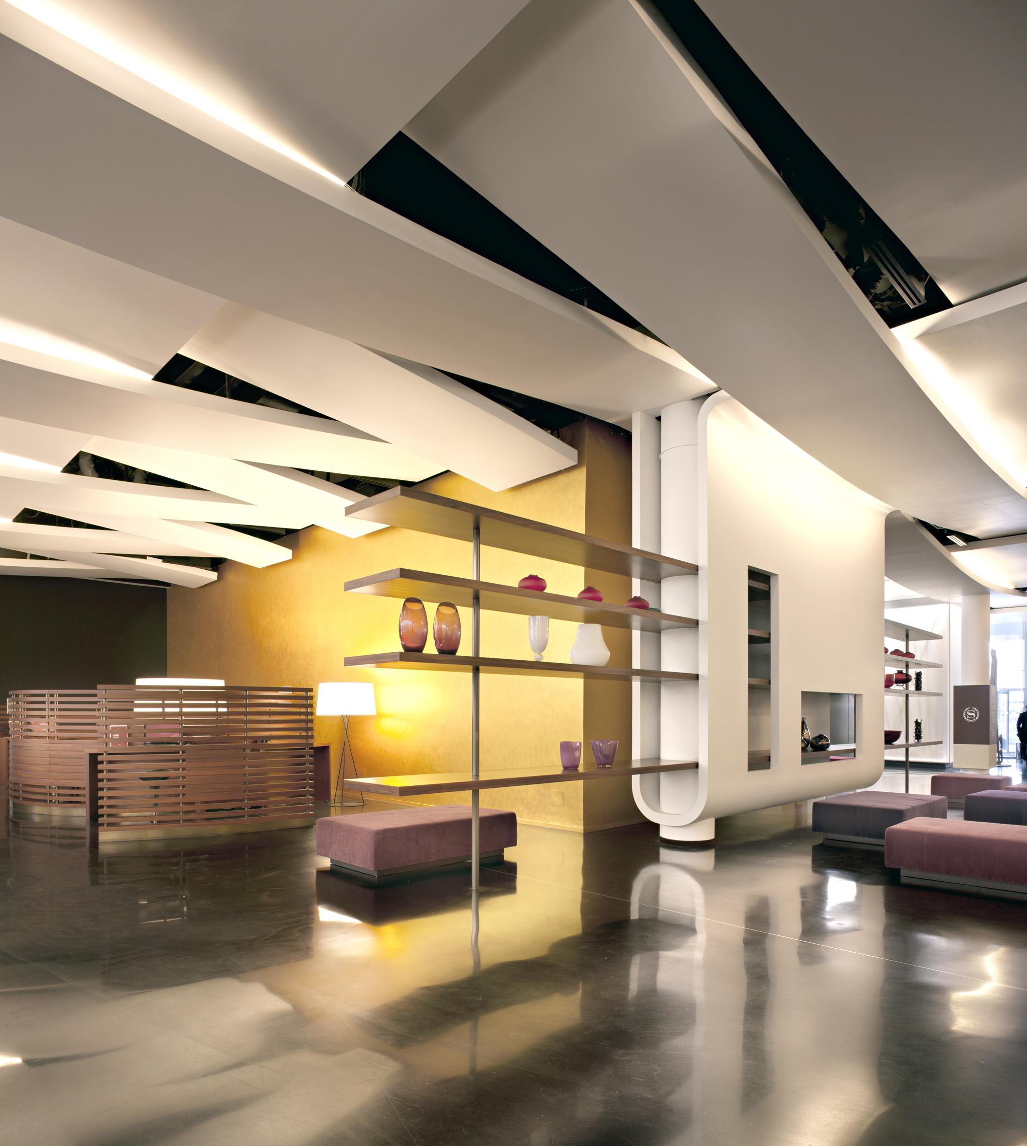 reception lobby- Sheraton Link