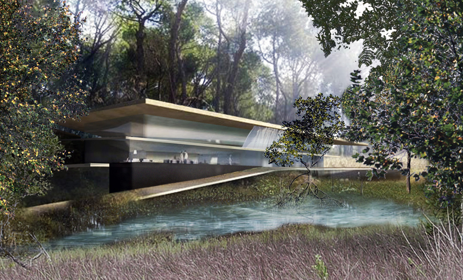 Resort villas   By concentrating the development of the villas in areas previously occupied by building, existing plants and trees are conserved, with the aim of producing, a higher density of villas together with more privacy.