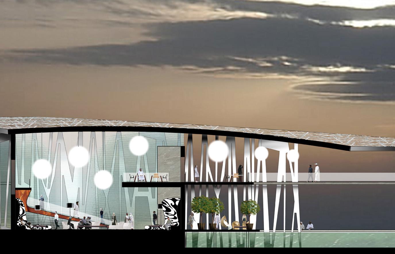 Restaurants - section, façade