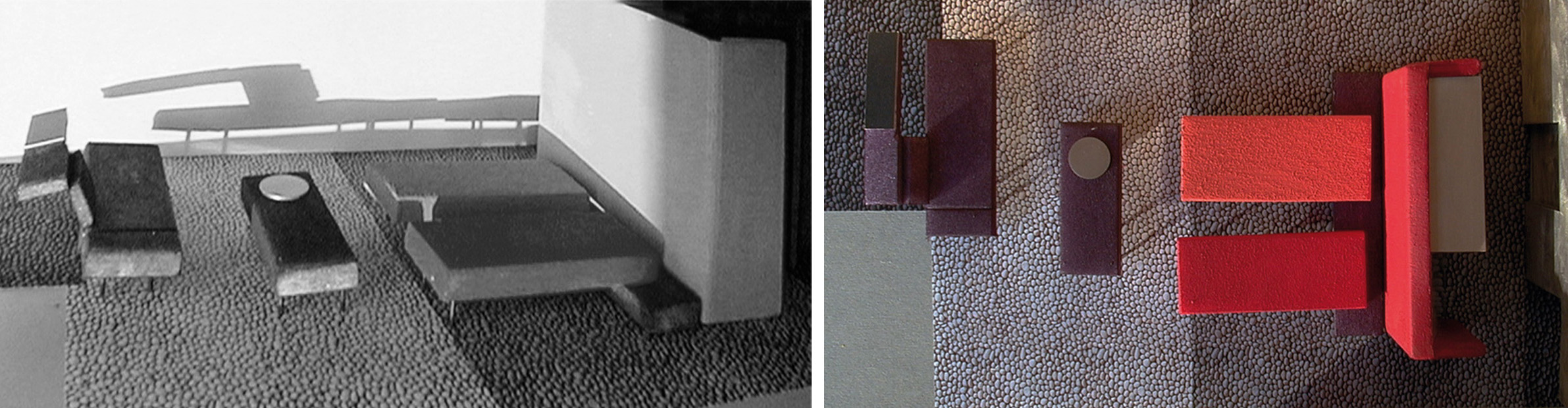 standard room study model with carpet design and colour scheme