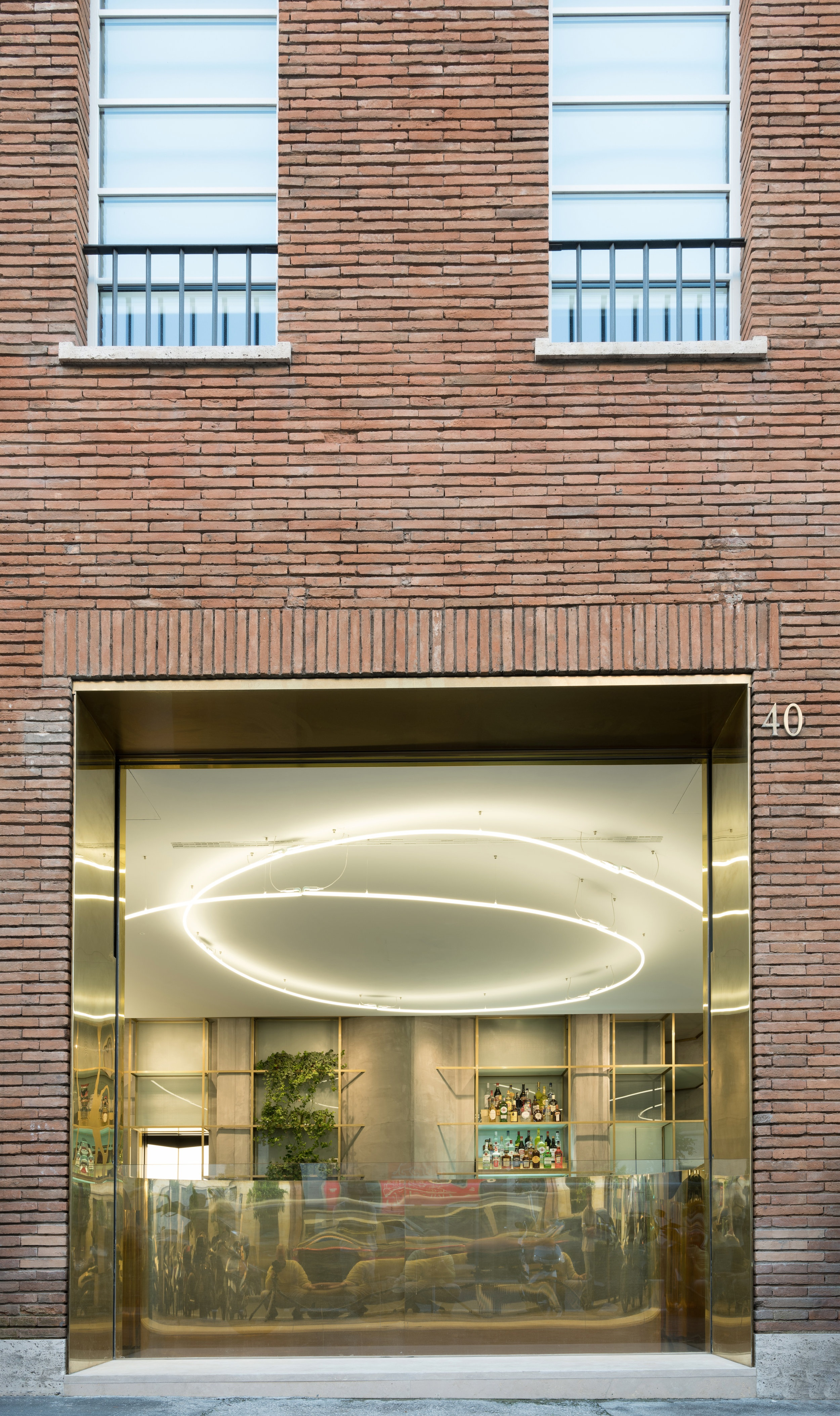 Hotel Royal Bissolati - street facade -