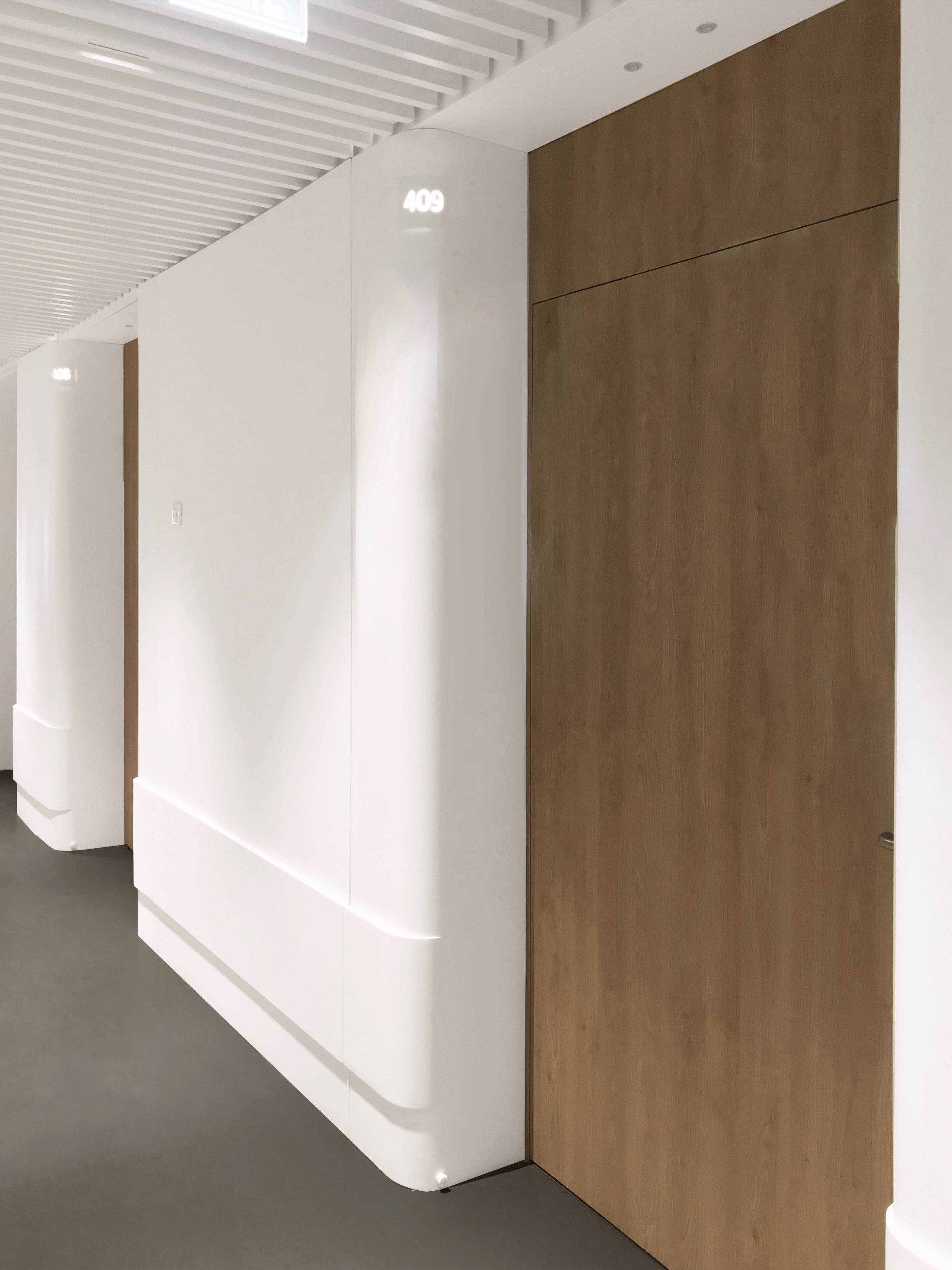 Salvator Mundi International Hospital - fourth floor corridor -