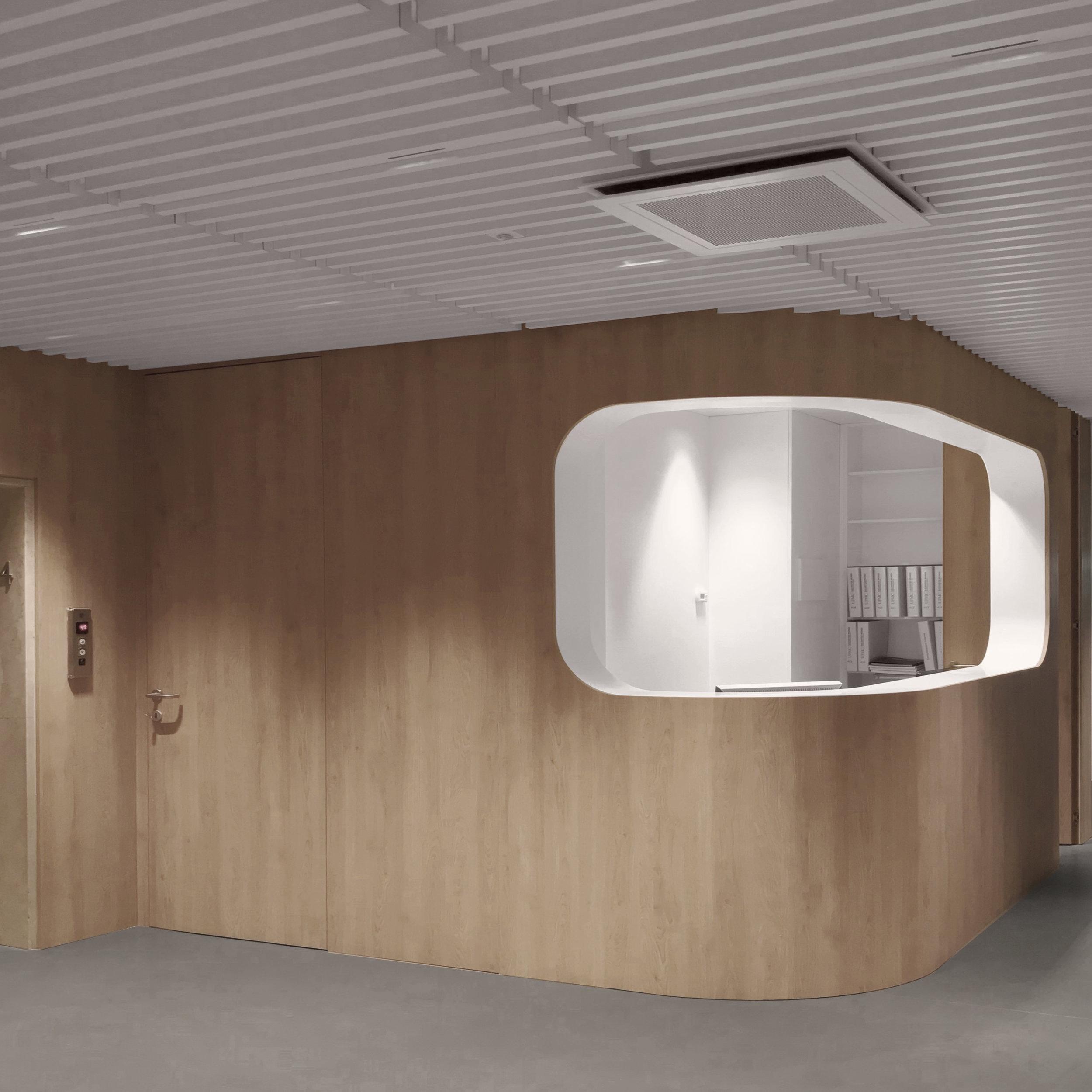 Salvator Mundi International Hospital - fourth floor reception area -