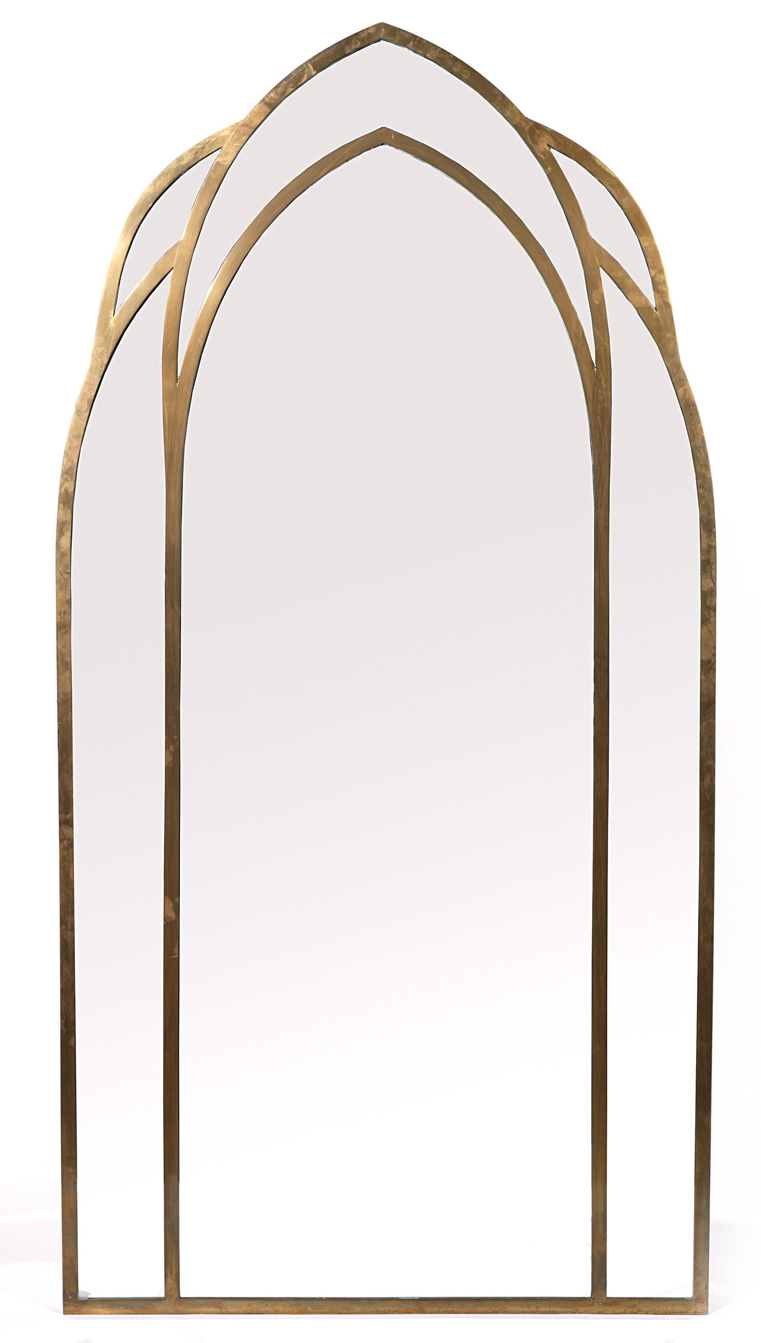 Gabriella Crespi, Cathedral Mirror, c.1970,  Tajan Paris