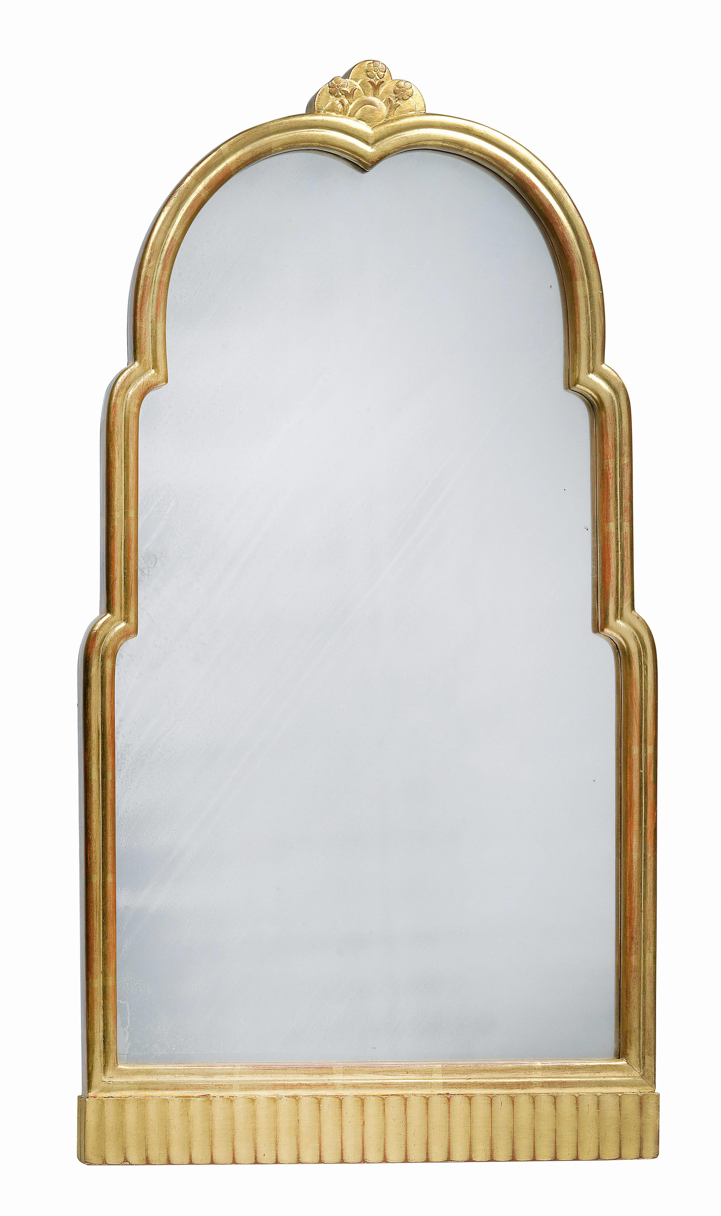 Otto Prutscher (1880-1949) A Rare Giltwood Mirror, c.1915 Dorotheum Vienna