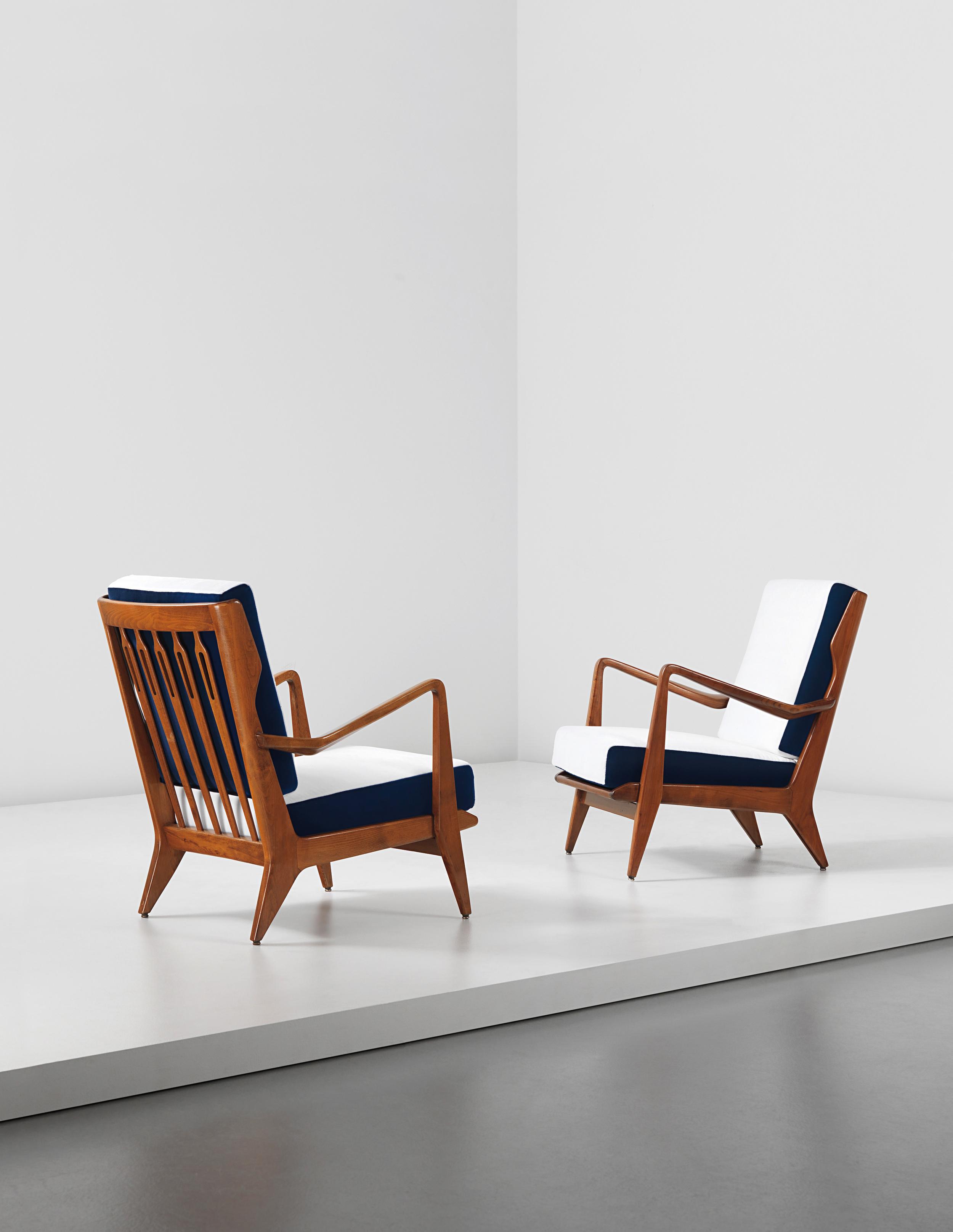 Gio Ponti   (1891-1979)Armchairs, c.1955, Phillips London