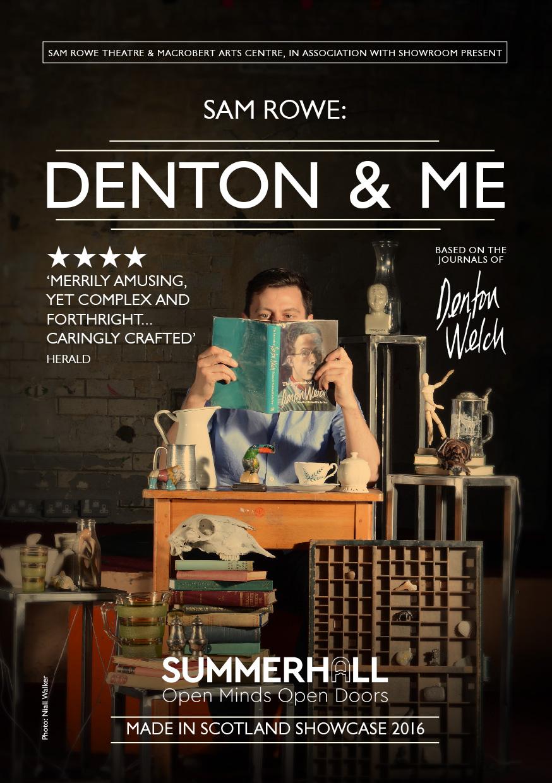 Denton & Me (Marketing, press, design, photography)