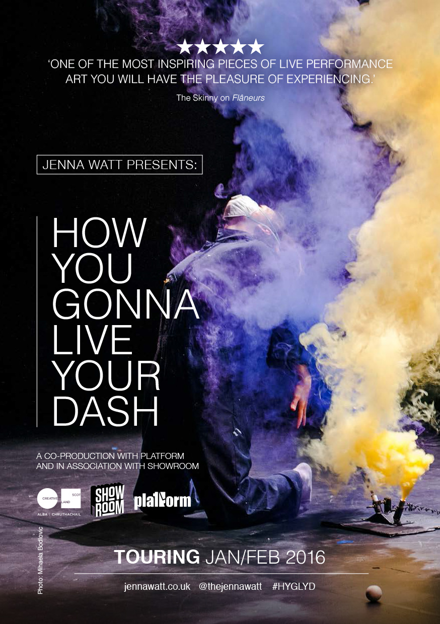 How You Gonna Live Your Dash (design)