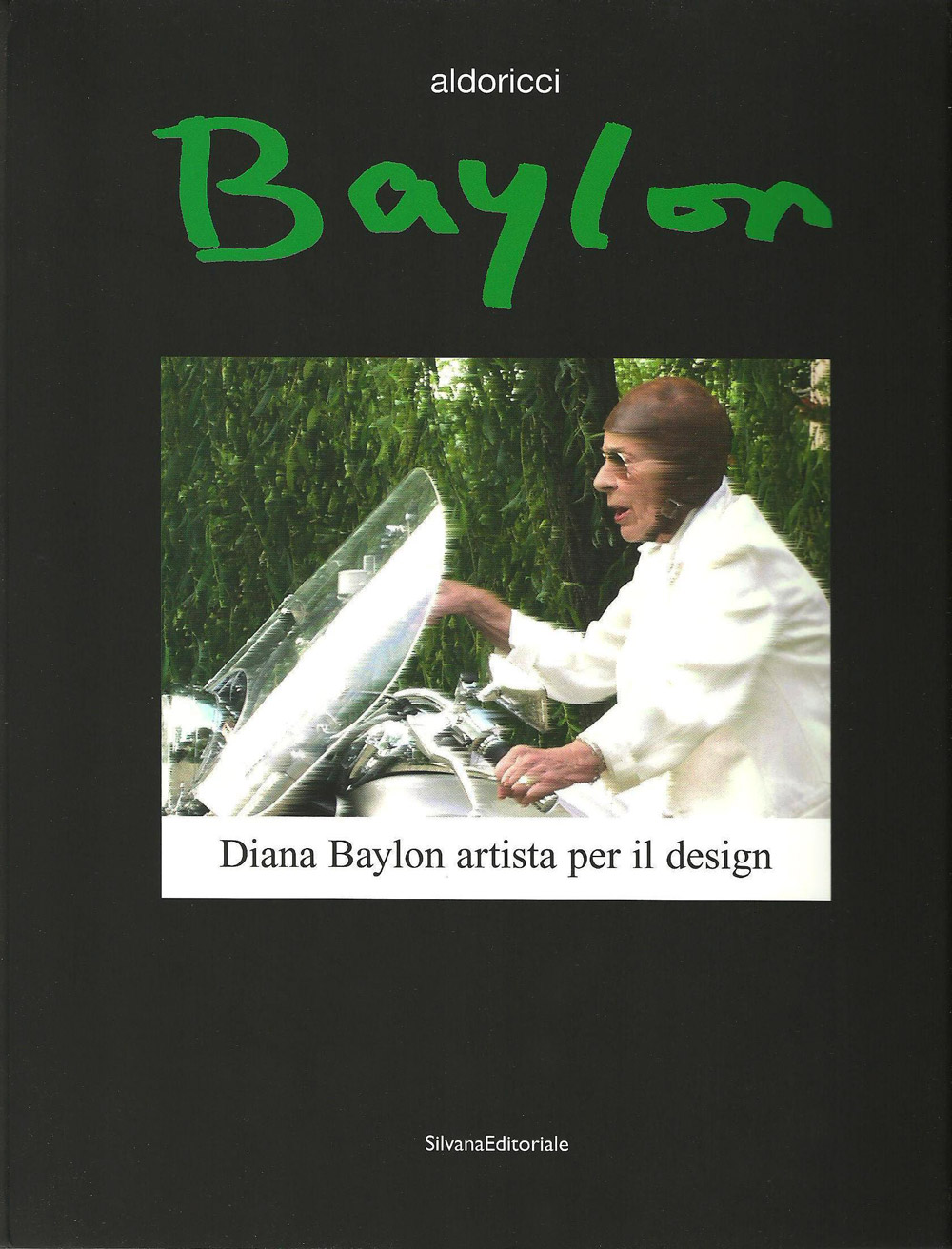 """Catalogo della retrospettiva """"Diana Baylon artista per il design"""",galleriaSottanadel MIAAO, Torino,2008 A cura di Aldo Ricci"""