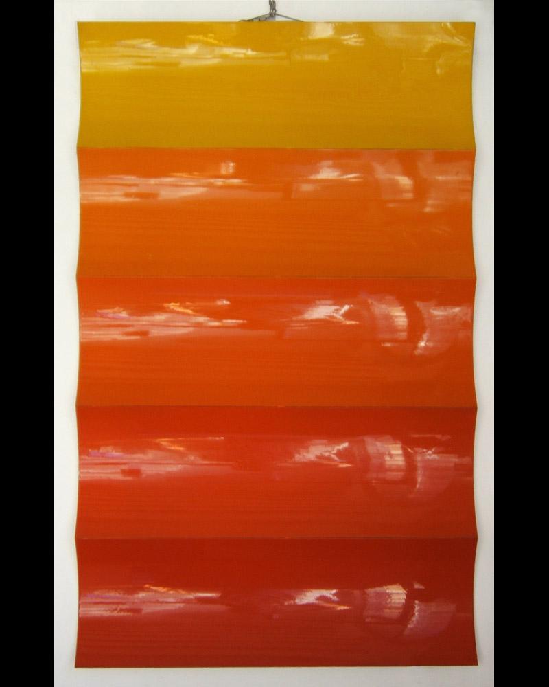 Senza titolo, 1968  metallo verniciato, 118x70cm