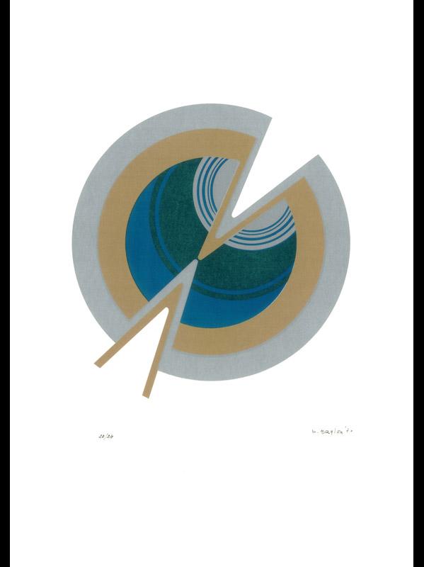 Senza titolo, 1970  litografia, 70x50cm, 20/24