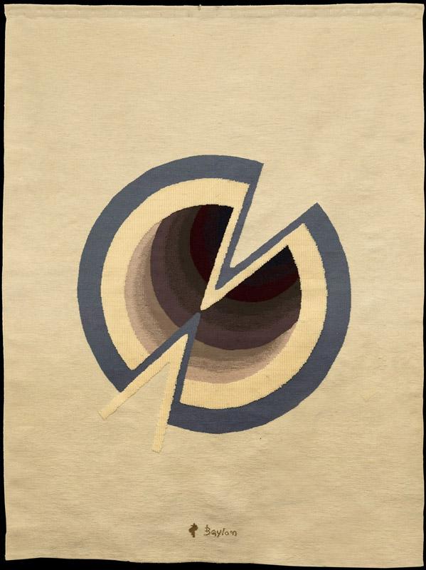 Senza titolo, 1970  arazzo in lana, 193x148 cm