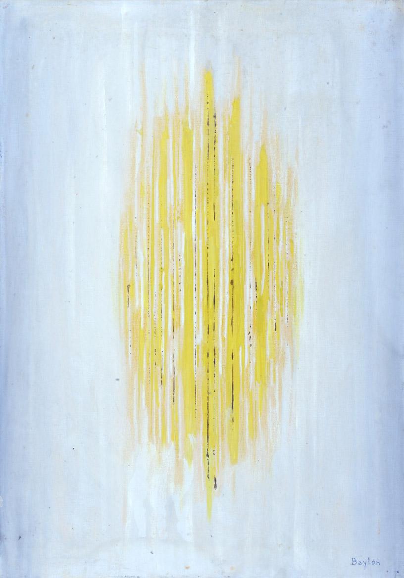 Struttura cromatica, 1966  olio su tela, 70x50 cm