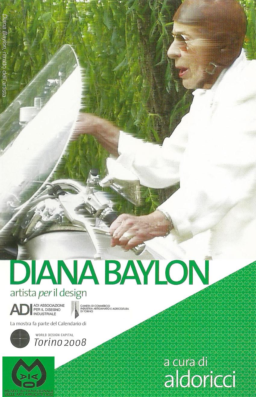 Diana Baylon artista  per  il design   Galleria Sottana del MIAAO, Torino, 2008