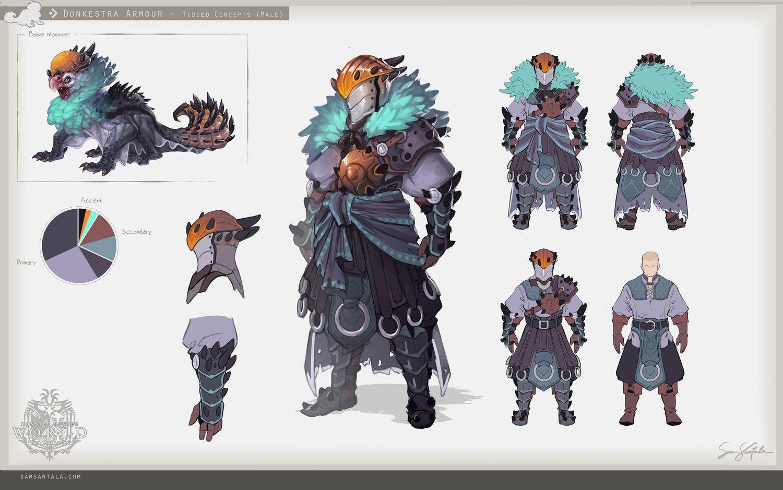 Monster Hunter Donkestra Armour Sam Santala