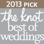 2013 The Knot Best of Weddings - Pink Palette Artists Houston TX