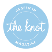 As seen in The Knot magazine - Pink Palette Artists