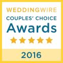 WeddingWire Couples' Choice Award 2016 - Pink Palette Artists Houston TX