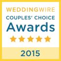 WeddingWire Couples Choice Award 2015 - Pink Palette Artists Houston TX