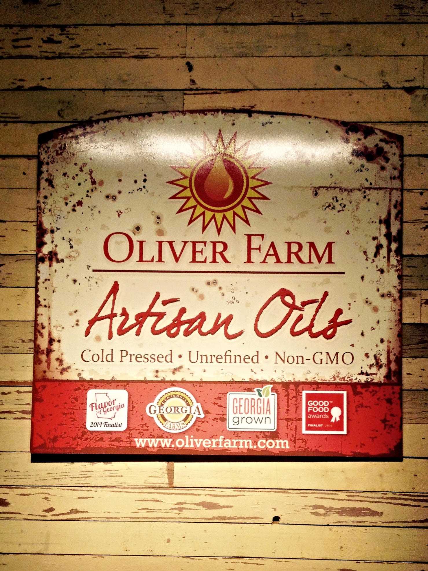Oliver Farm  received a 2015 Value-Added Producer Grant to assist in processing and marketing costs for sunflower oil, pressed from seeds grown on the family farm in Pitts, Georgia.