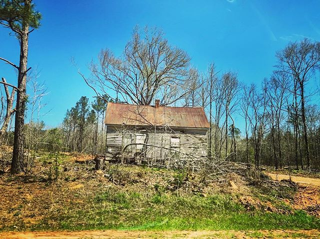The woods of Crawford County seem to be riddled with old cabins and empty trailers and abandoned whatnot.  __________________ #crawfordcountyga #middlegeorgia #thisismygeorgia #exploregeorgia #georgia #georgiaonmymind #oldgeorgiahomes #cabin #house #history #rural #rural_love #rurex #south #deepsouth
