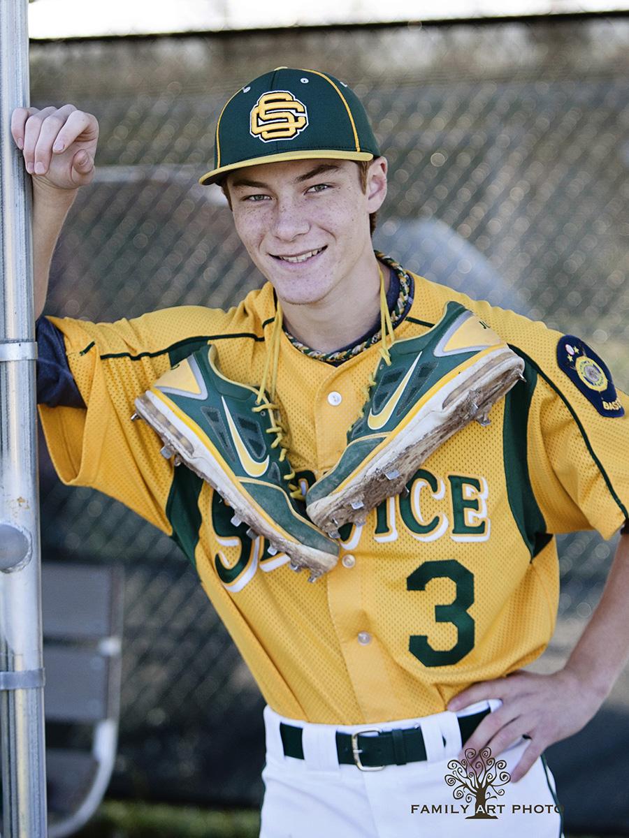 Anchorage High School Senior Sports Photography