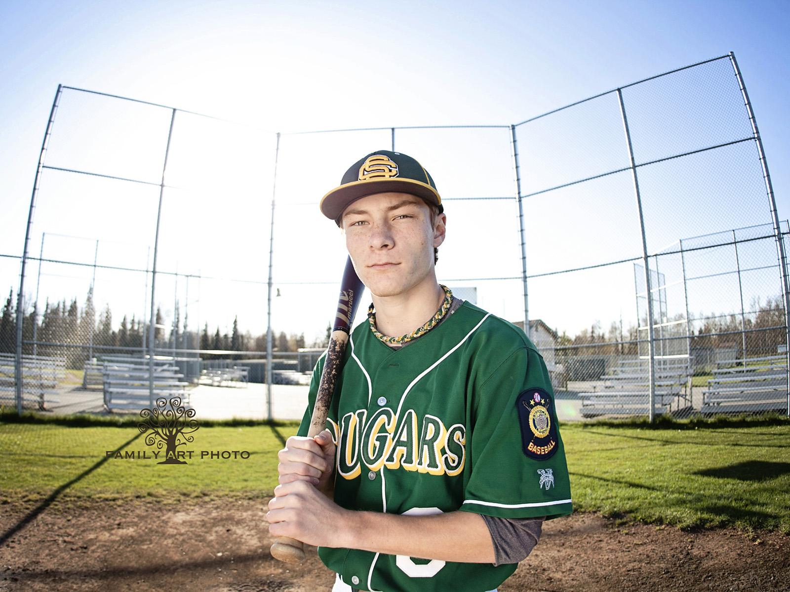 Anchorage High School Senior Sport Photography