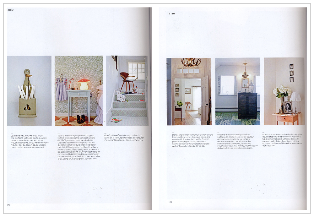 Milk Decoration - French magazine 2012