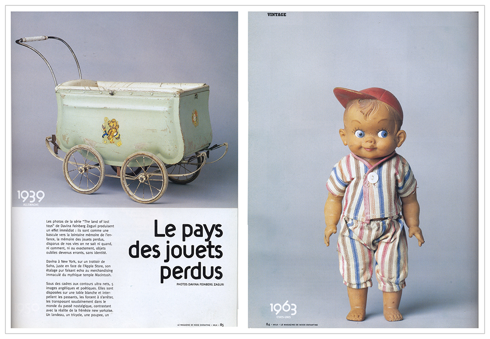 "Milk Magazine -  ""The land of lost toys"" series - 2005"