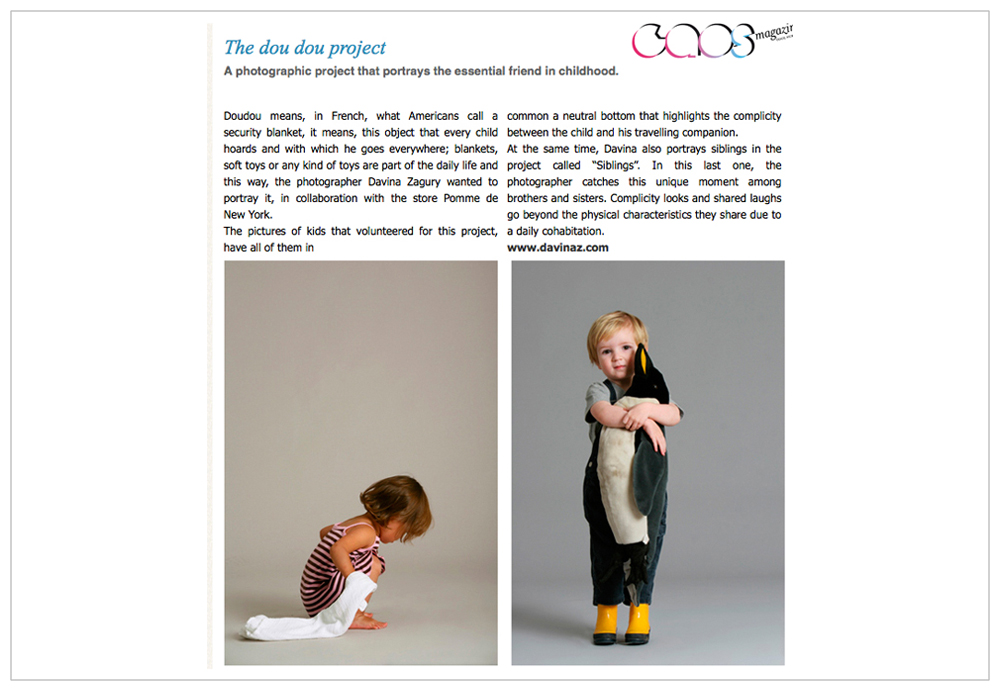 The Doudou project - Caos Magazine 2013