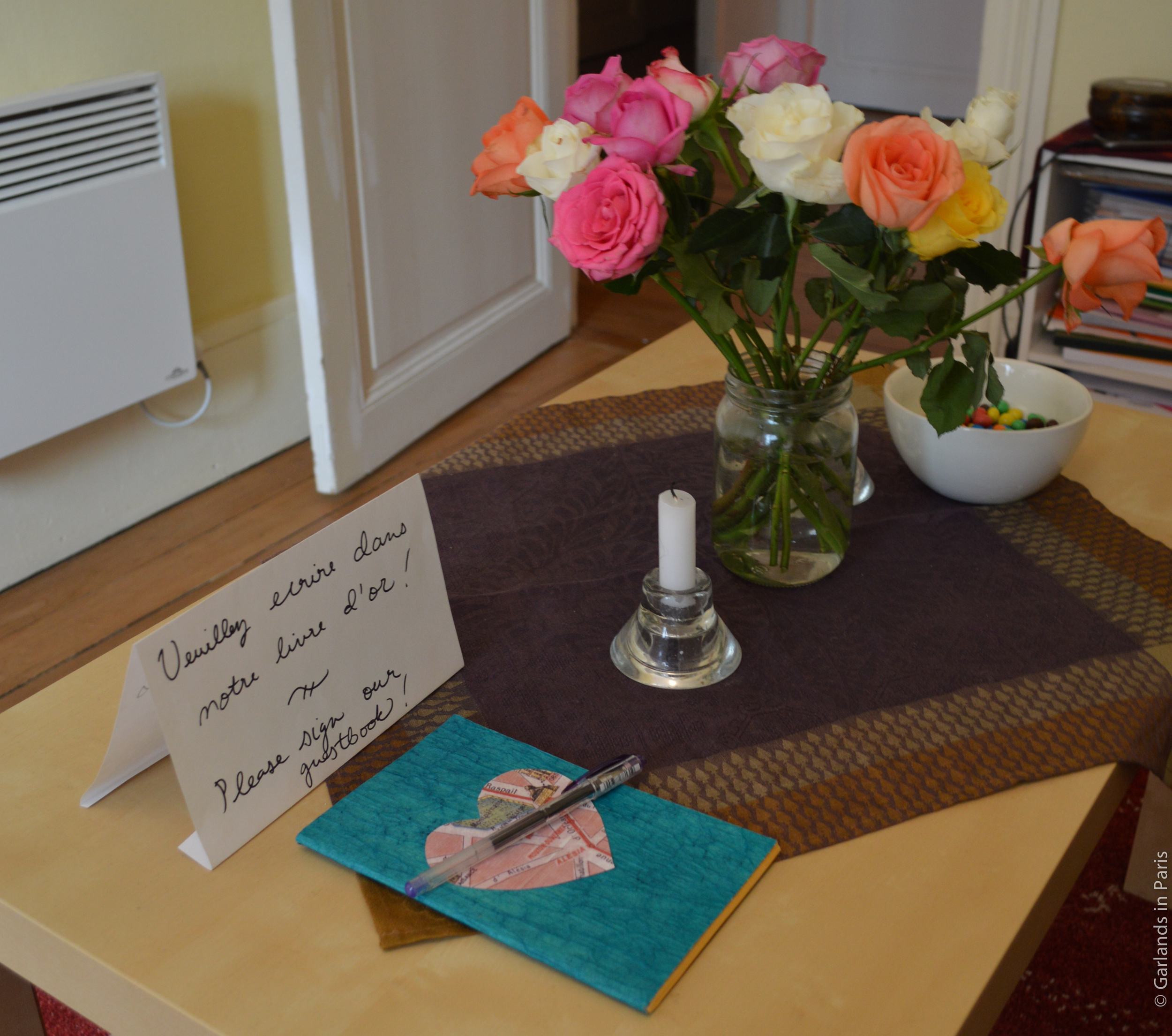 Guestbook Livre d'or
