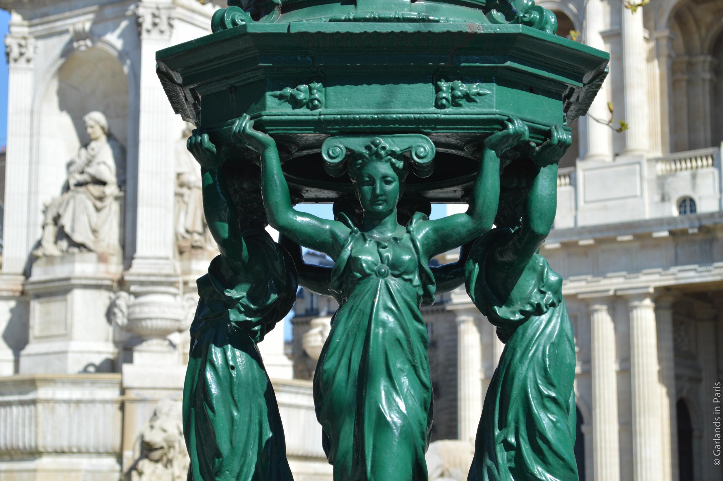 Wallace Fountain Place Saint Sulpice Paris