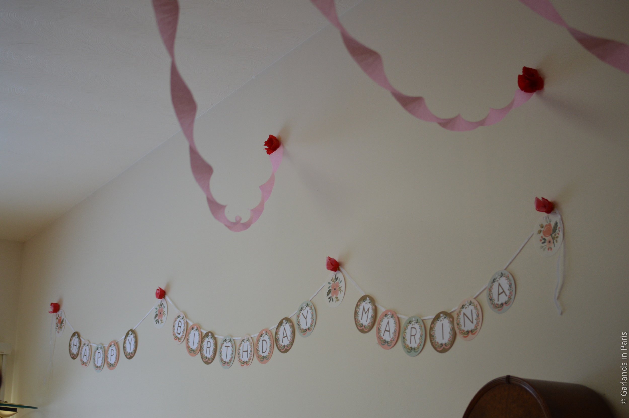 A Rosy Birthday Party