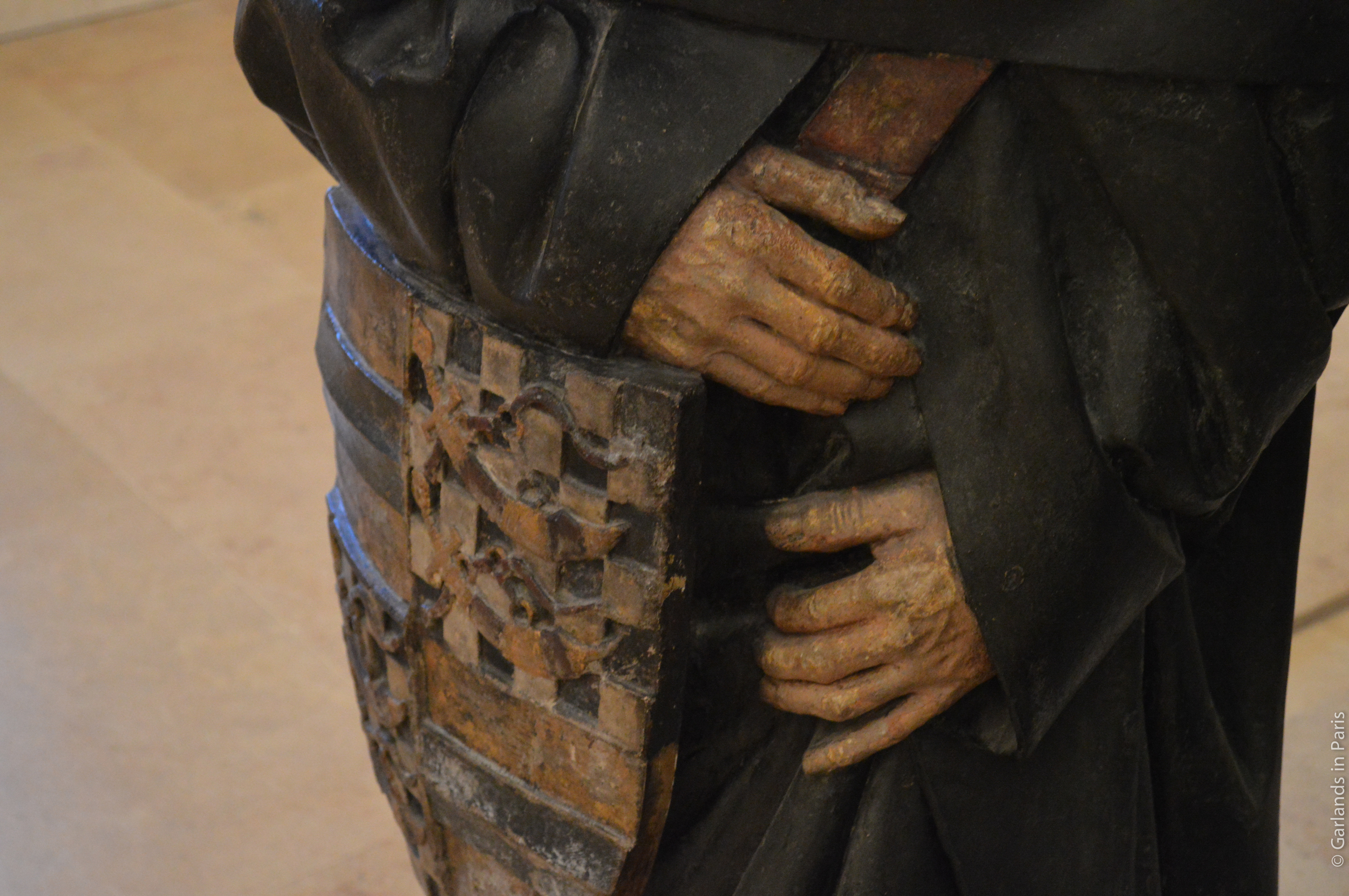 Louvre Museum Statue Hand