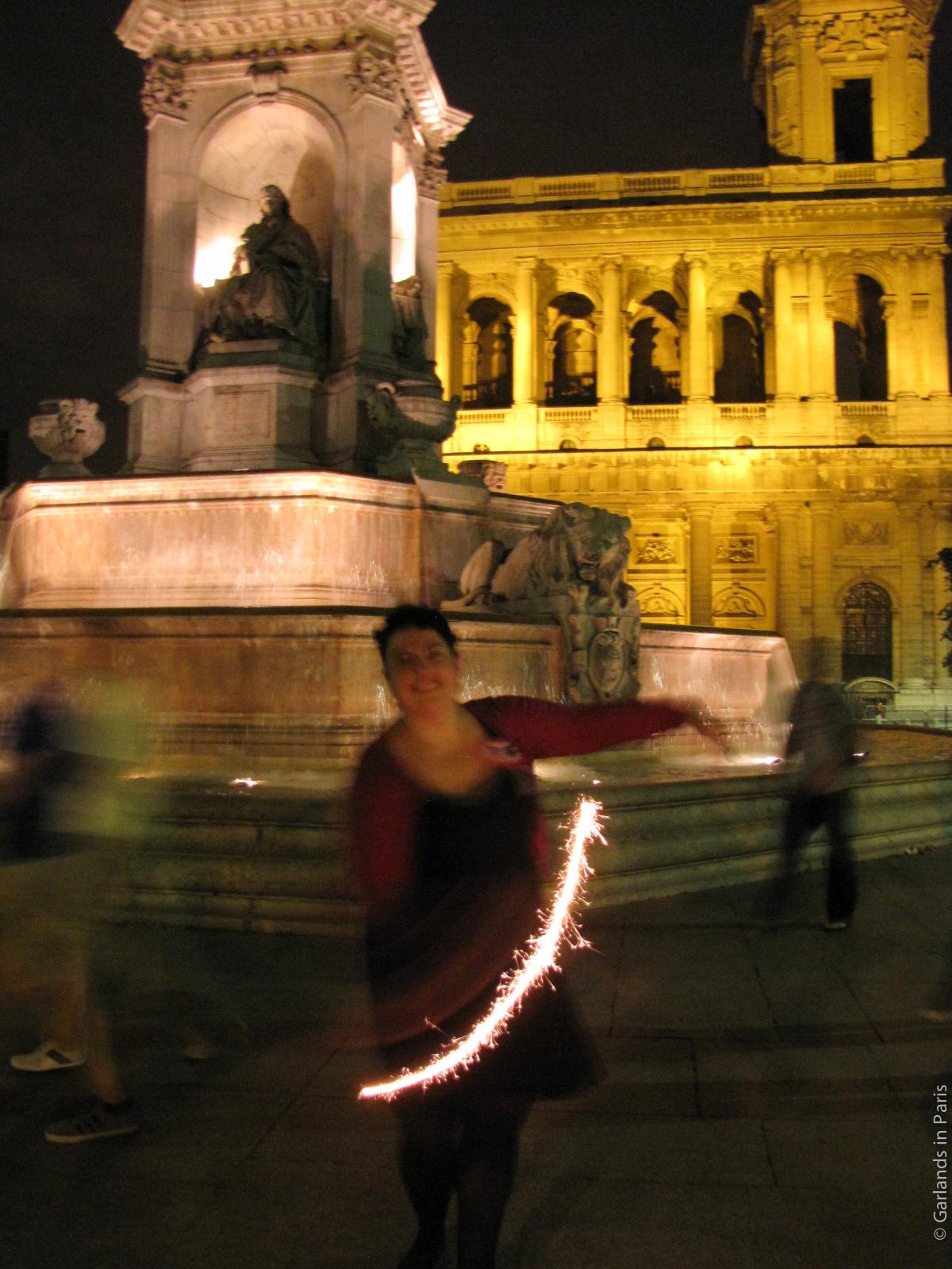 Place Saint Sulpice Sparklers