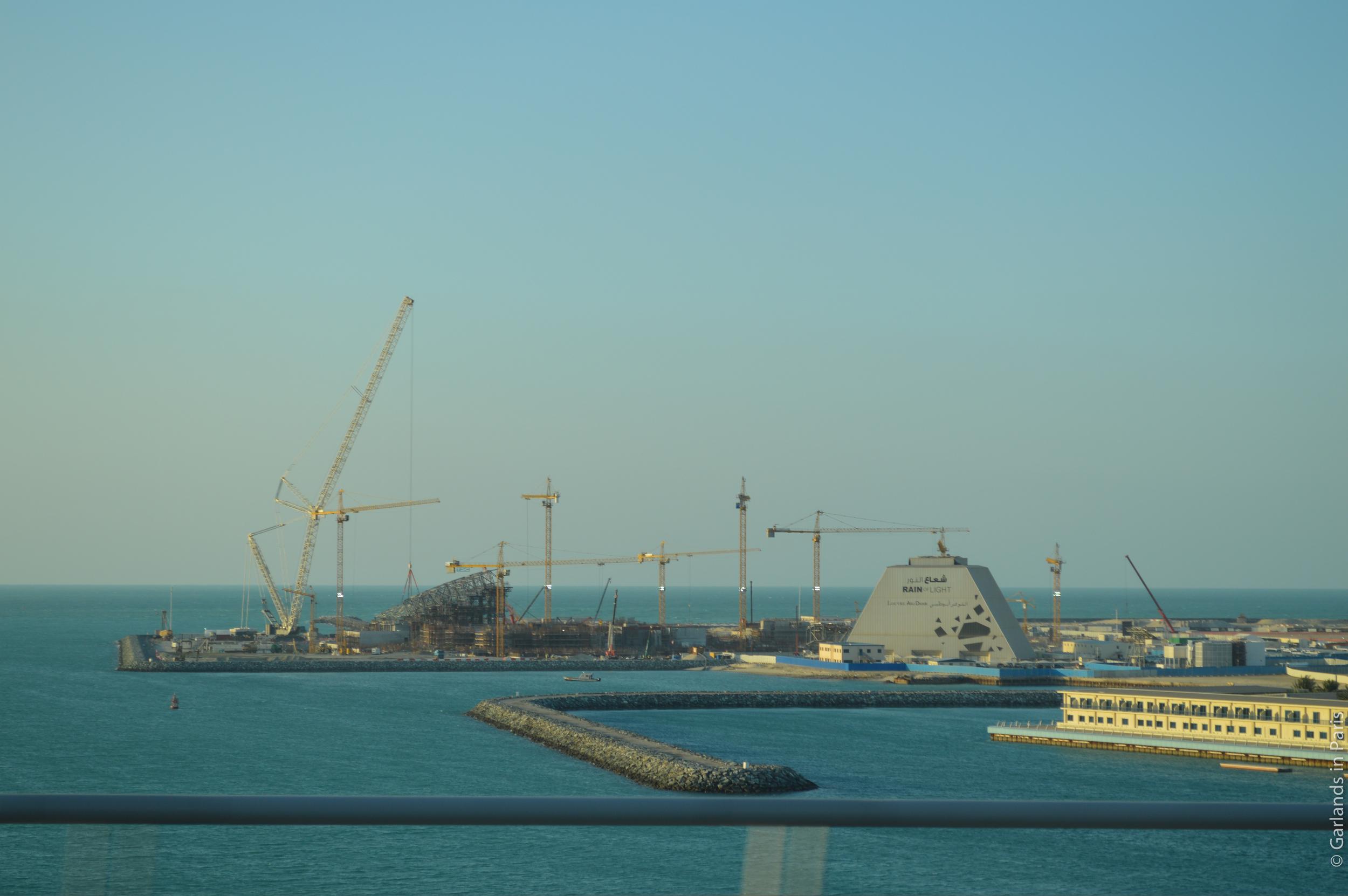 Louvre Abu Dhabi Construction