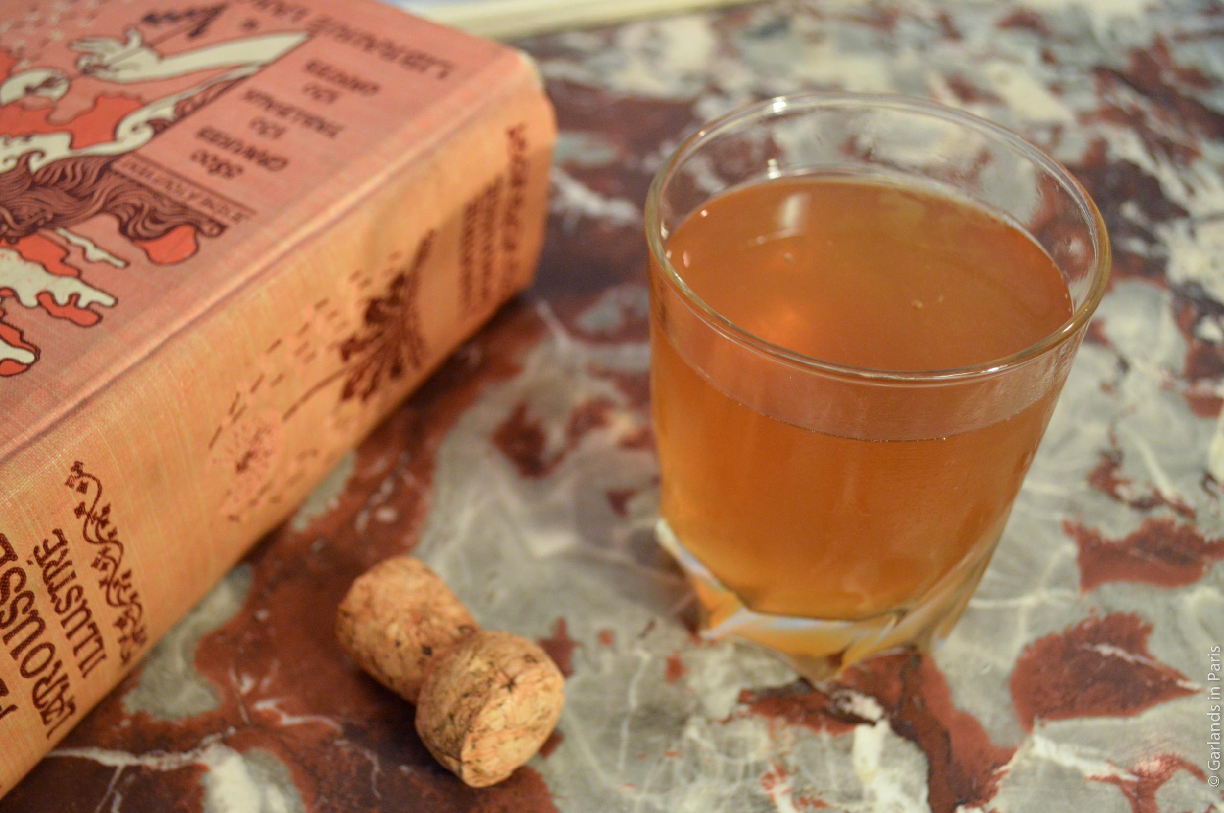 Sazerac and Cider Cocktail