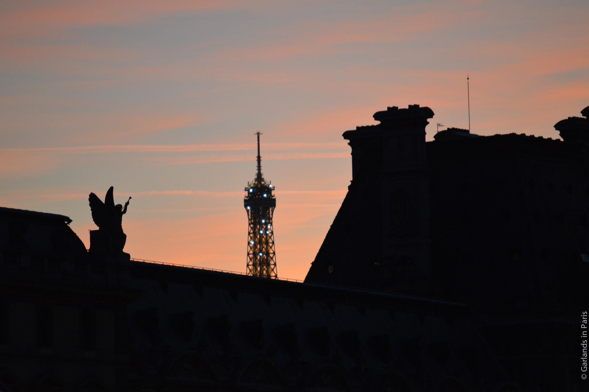 Eiffel Tower, Louvre