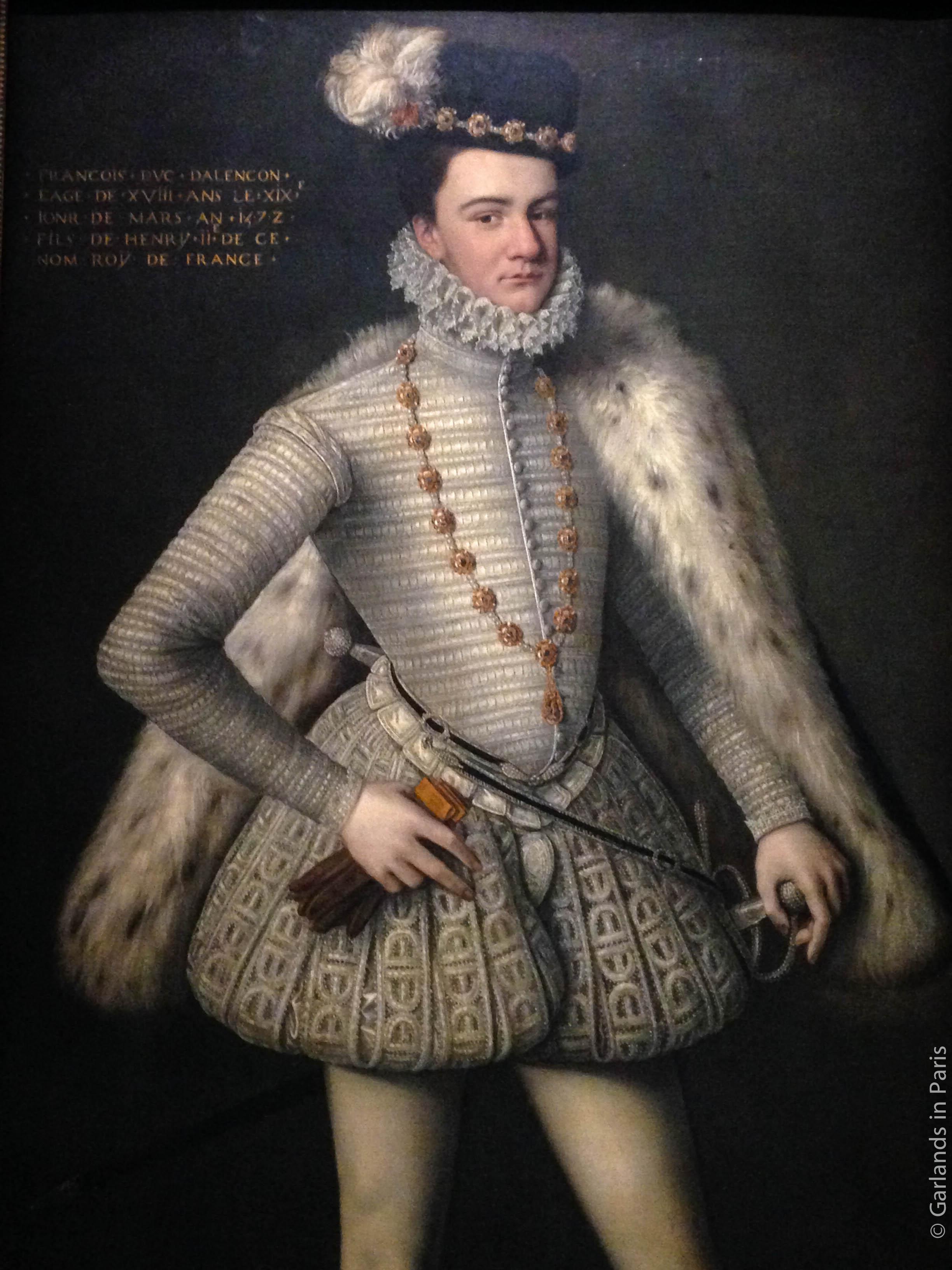 Prince Hercule-François portrait, Musée du Luxembourg, Paris
