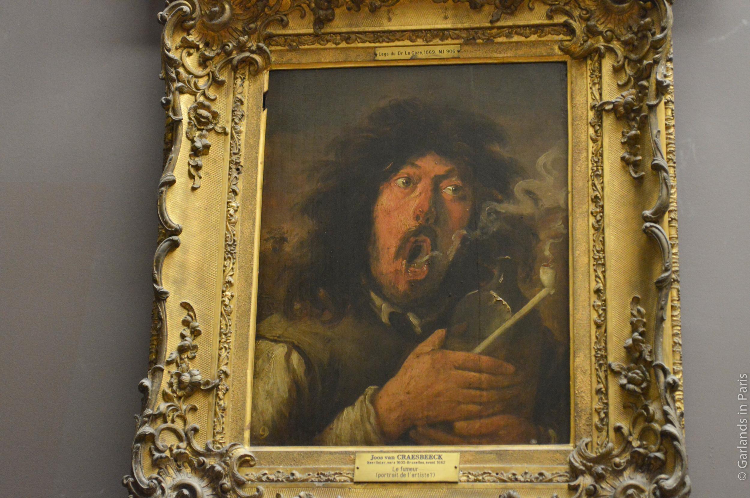 Le fumeur, Musée du Louvre, Paris