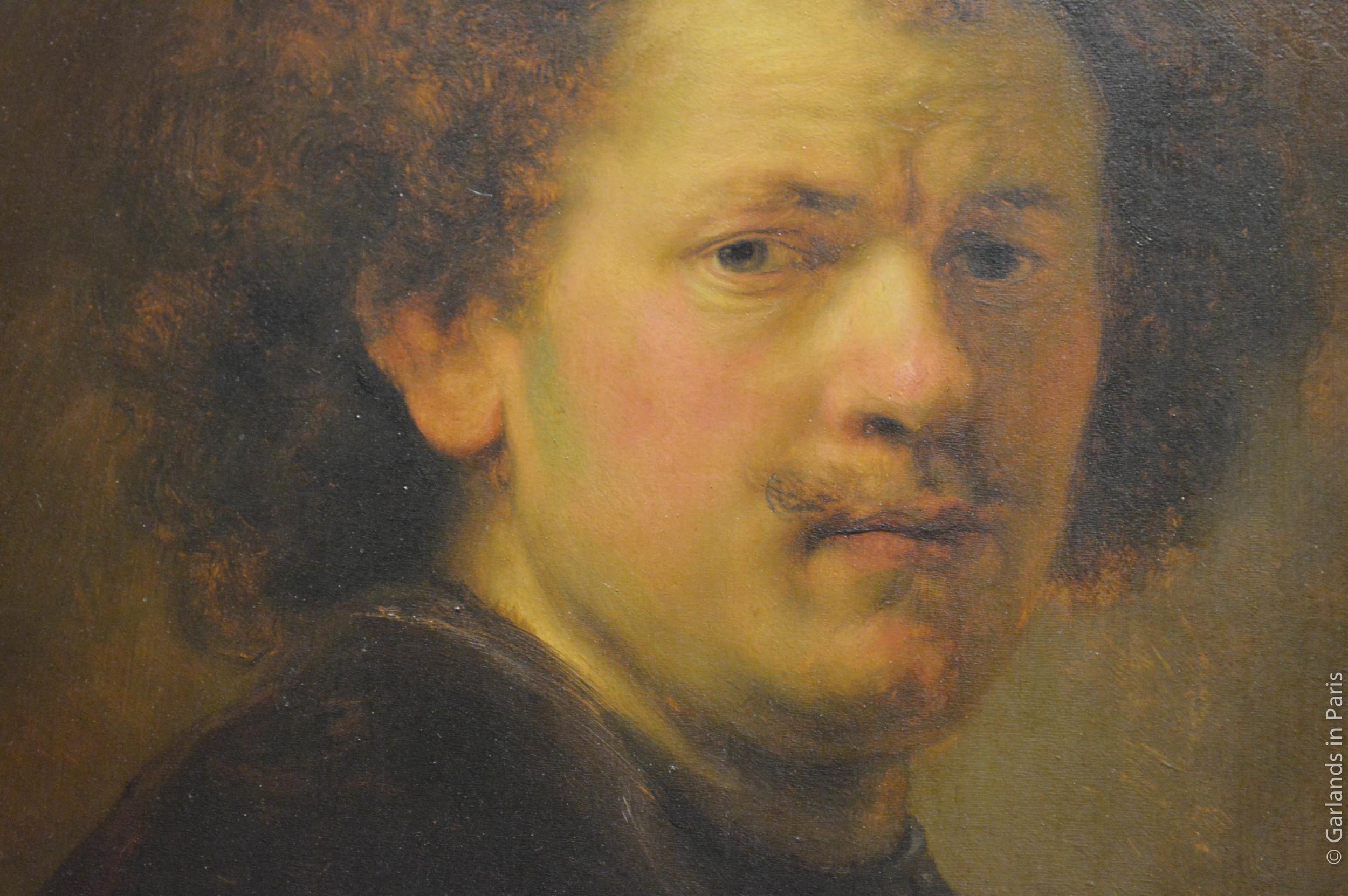 Rembrandt Self-Portrait, Musée du Louvre, Paris