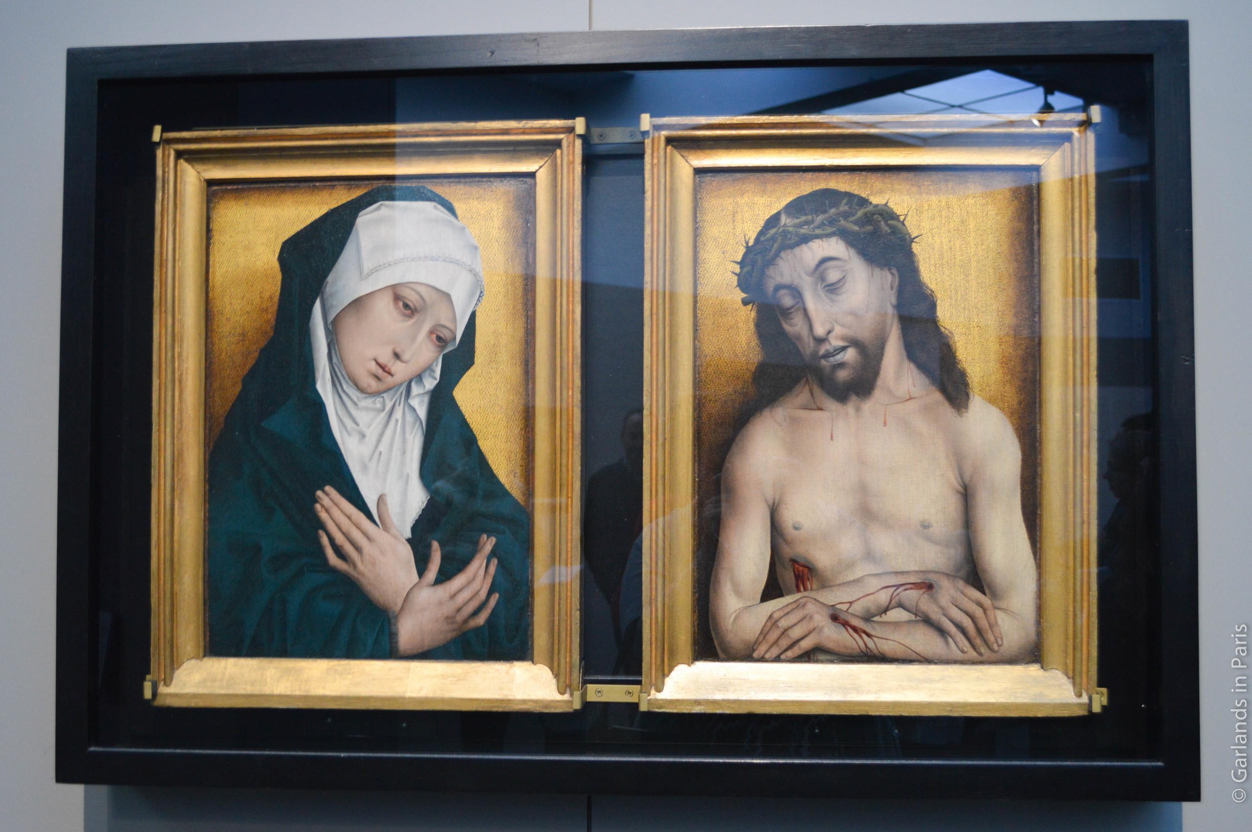 The Virgin and the Man of Sorrow, 1480-90, Simon Marmion