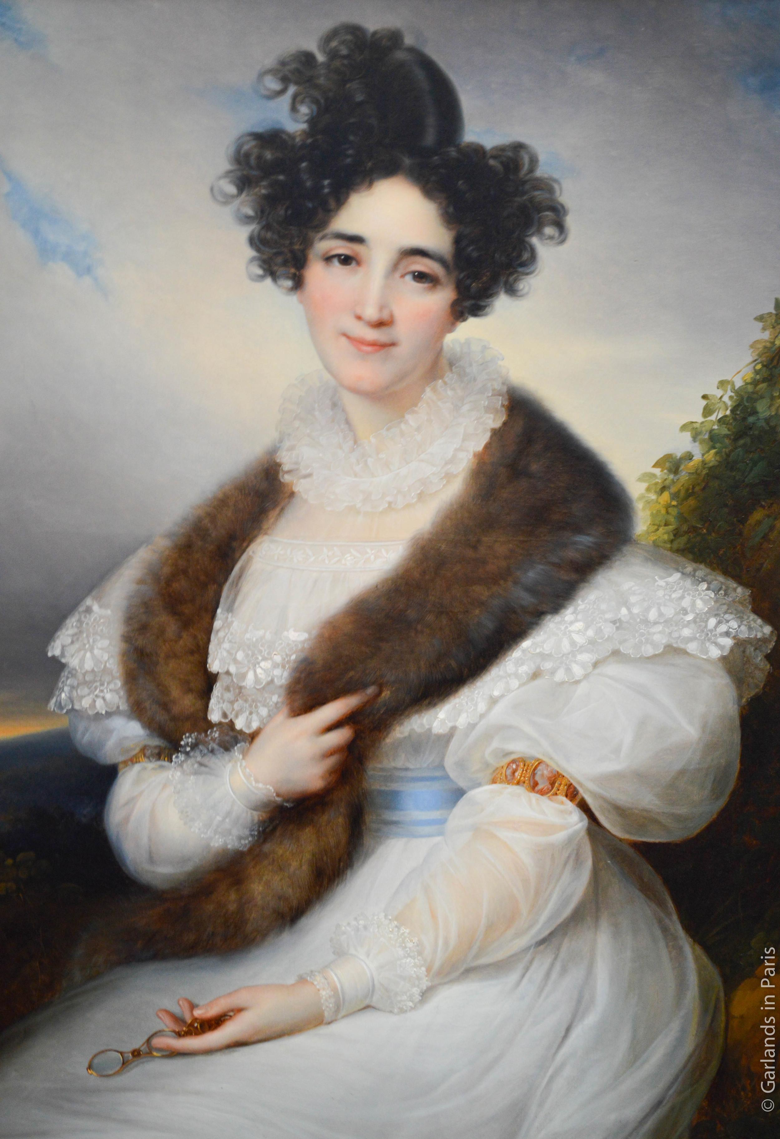 Portrait of Marie J. Lafont-Porcher, c. 1835, François-Joseph Kinson