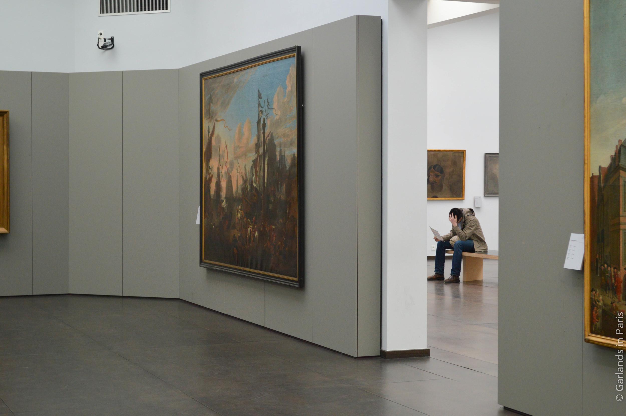 Bored, Groeningemuseum, Bruges, Belgium