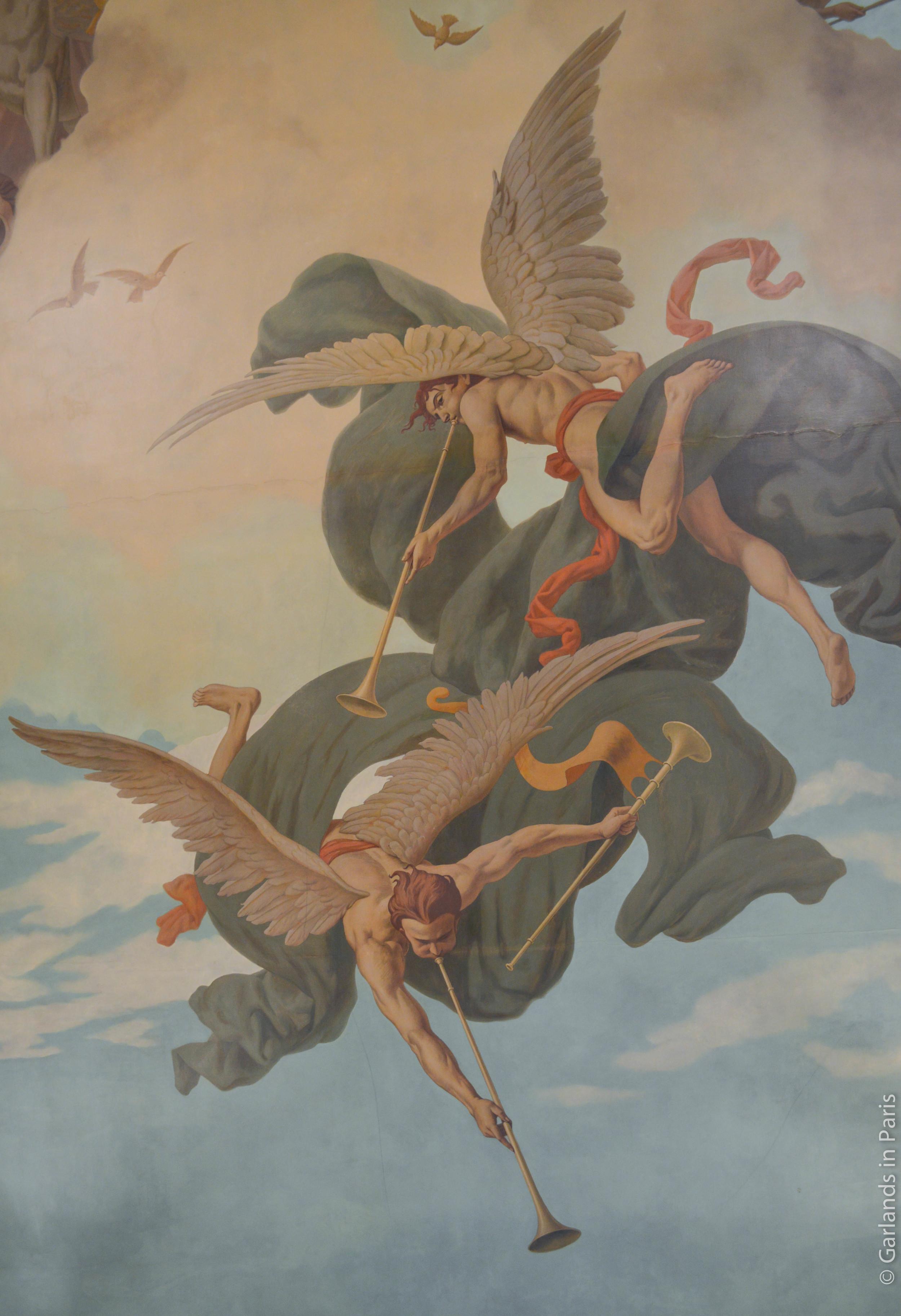 Fresco, Mairie du 6e, Paris