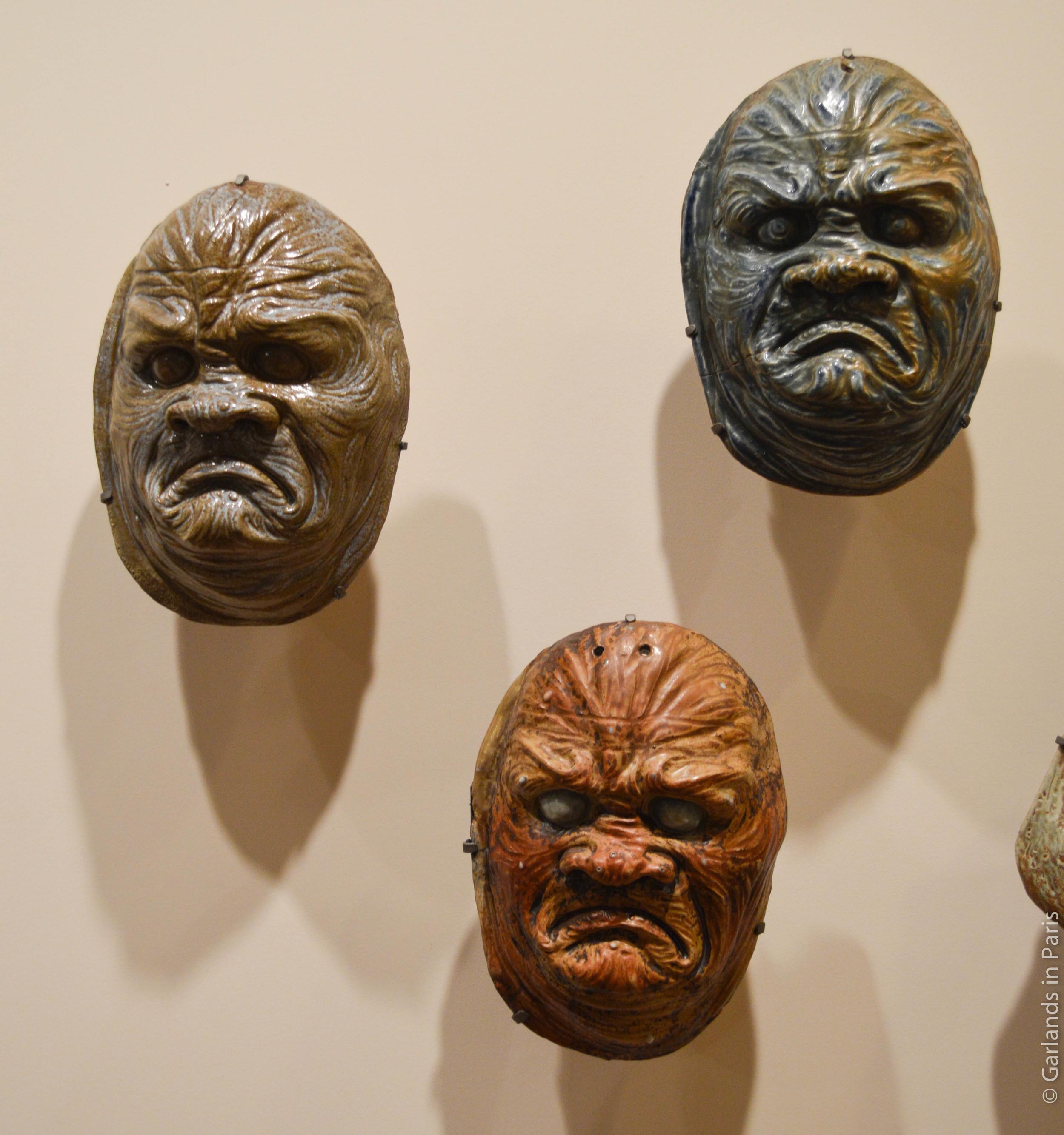 Jean Carriès, Horror Masks, Petit Palais