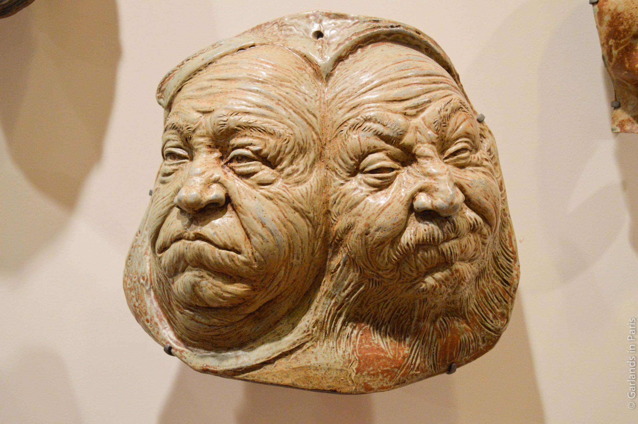 Jean Carriès, Mask, Petit Palais