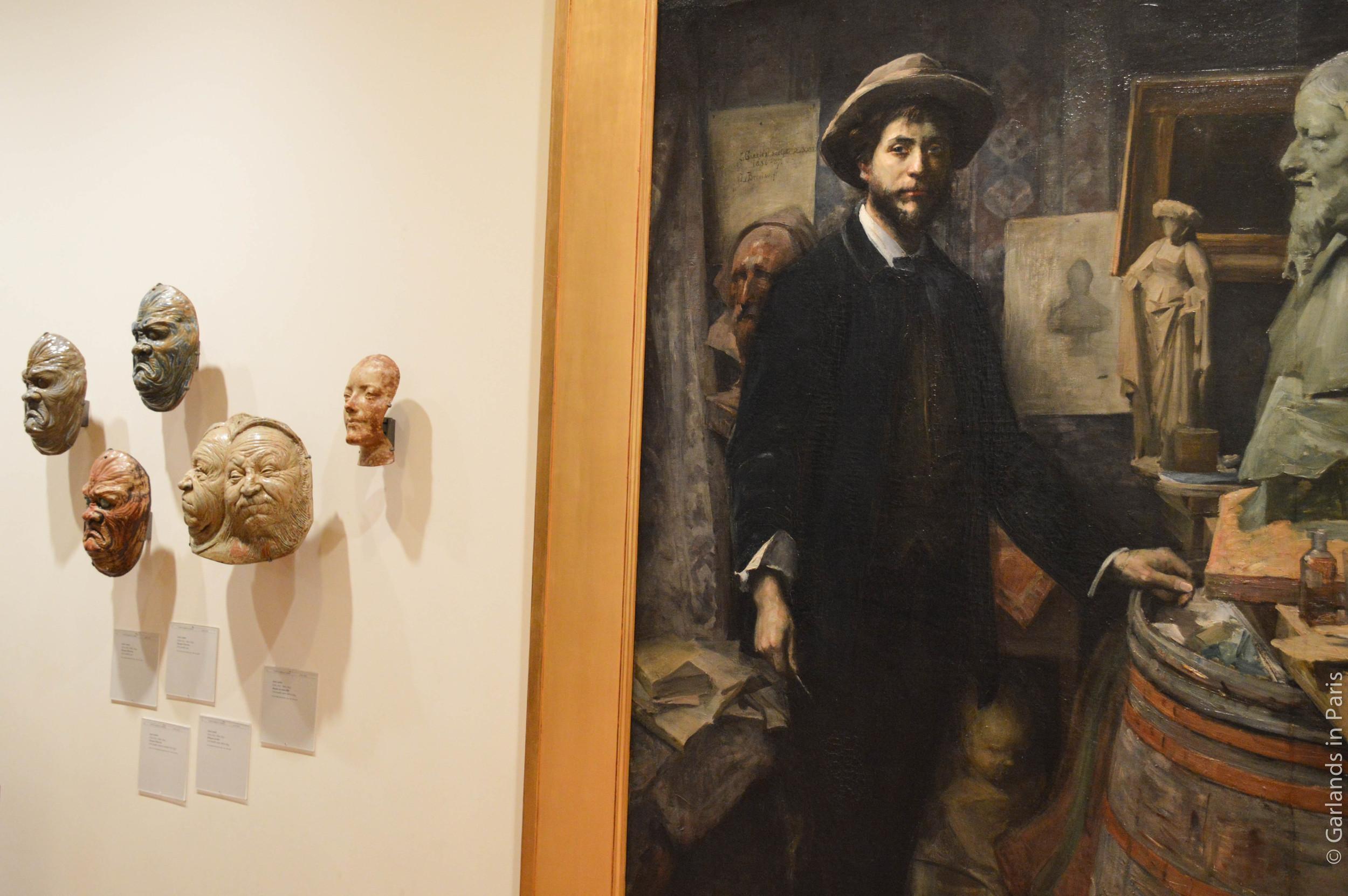Jean Carriès, Horror Masks, Portrait, Petit Palais